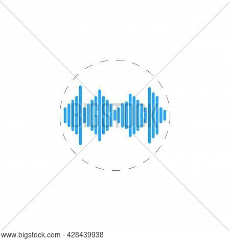 Music Equalizer Clipart. Equalizer Simple Vector Clipart. Equalizer Isolated Clipart.