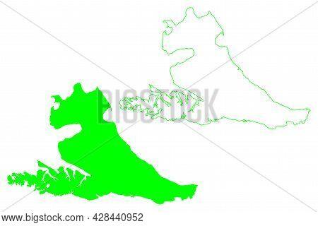 Isla Grande De Tierra Del Fuego Island (argentine Republic, Republic Of Chile, South And Latin Ameri
