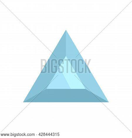 Stone Jewel Icon. Flat Illustration Of Stone Jewel Vector Icon Isolated On White Background