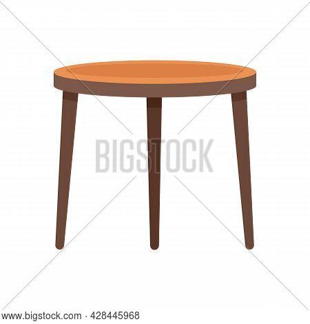Garden Furniture Icon. Flat Illustration Of Garden Furniture Vector Icon Isolated On White Backgroun