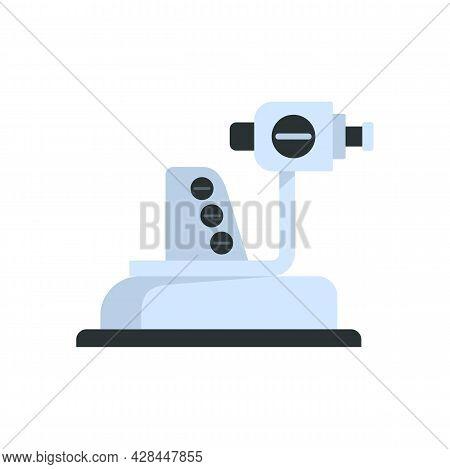 Ophthalmologist Equipment Icon. Flat Illustration Of Ophthalmologist Equipment Vector Icon Isolated