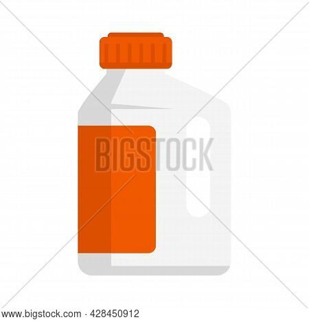 Cleaner Protect Bottle Icon. Flat Illustration Of Cleaner Protect Bottle Vector Icon Isolated On Whi