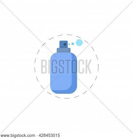 Spray Clipart. Spray Simple Vector Clipart. Spray Isolated Clipart.