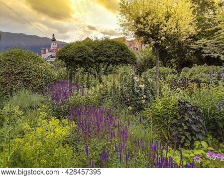 The Charming Little Town Of Frohnleiten In The District Of Graz-umgebung, Styria Region, Austria