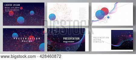 Vector Layout Of The Presentation Slides Design Business Template, Multipurpose Template For Present