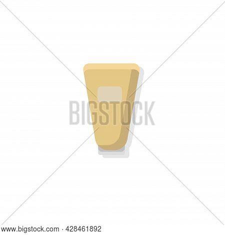 Cosmetic Cream Tube Clipart. Cosmetic Cream Tube Simple Vector Clipart. Cosmetic Cream Tube Isolated