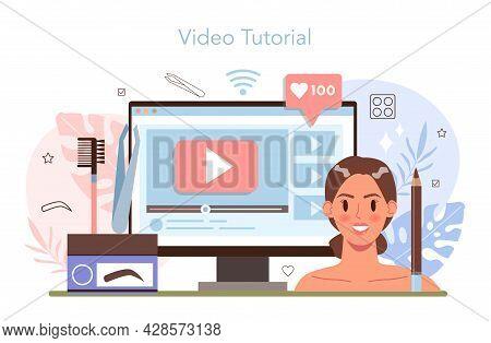 Eyebrow Master Online Service Or Platform. Master Making Perfect Eyebrows.
