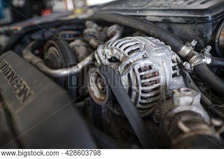 Car Engine Alternator 2