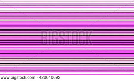 Colored Stripes Are Connected In Middle. Animation. Background Of Bright Colored Lines Moving On Top
