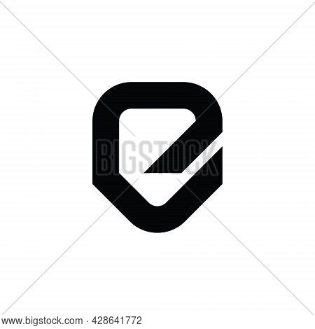 Initial Letter E Abstract Logo Vector Template