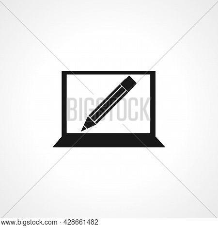 Tutorials Icon. Tutorials Simple Vector Icon. Tutorials Isolated Icon.