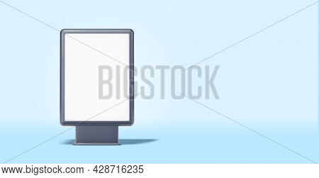 Billboard With Copy Space, 3d Rendering, Copy Space