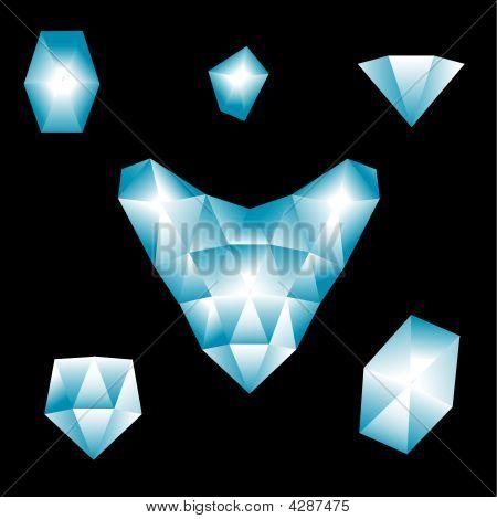 Brilliant's Heart And Precious Stones
