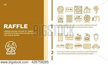 Dish Flavor Food Landing Web Page Header Banner Template Vector. Chili And Jalapeno Pepper, Chicken