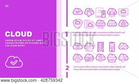 Circus Entertainment Landing Web Page Header Banner Template Vector. Circus Tickets And Seats, Aerod