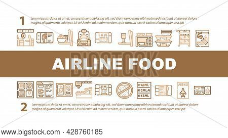 Gluten Free Products Landing Web Page Header Banner Template Vector. Gluten Free Rice And Quinoa Por