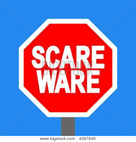 Stop Scareware Sign