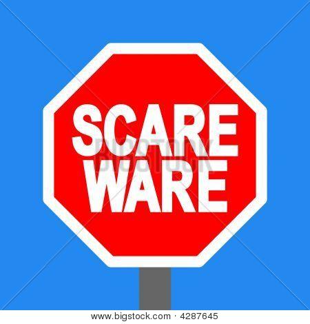 Stop Scareware Sign