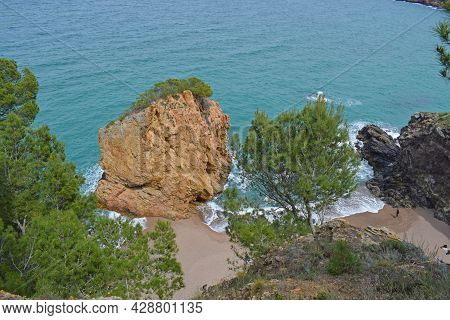 Beaches And Coves Of Begur, Gerona Catalonia Spain