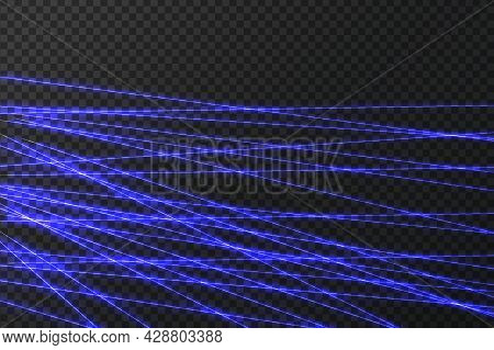 Art Design Shine Light Ray.laser Field.intersecting Glowing Laser Security Beams.