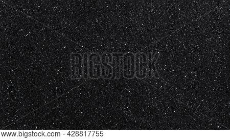 Black glittery textured background design