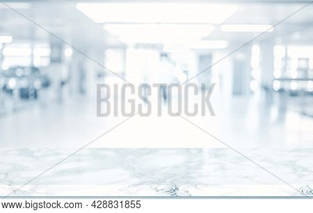 Medical Blurred Background For Website, Magazine Or Graphic For Commercial Campaign Design