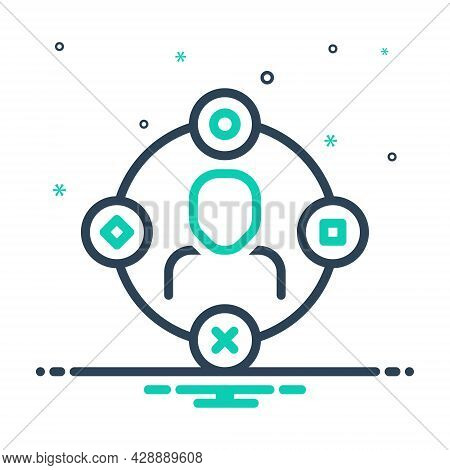 Mix Icon For Ambient-user-experience Comprehensive Extensive Pervasive Vast Interface Connection Com