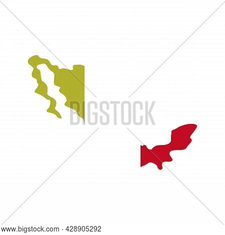 Mexico Territory Icon. Flat Illustration Of Mexico Territory Vector Icon Isolated On White Backgroun