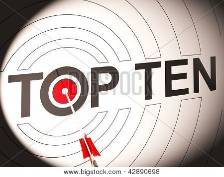Top Ten Target Showing Special Rated Companies poster