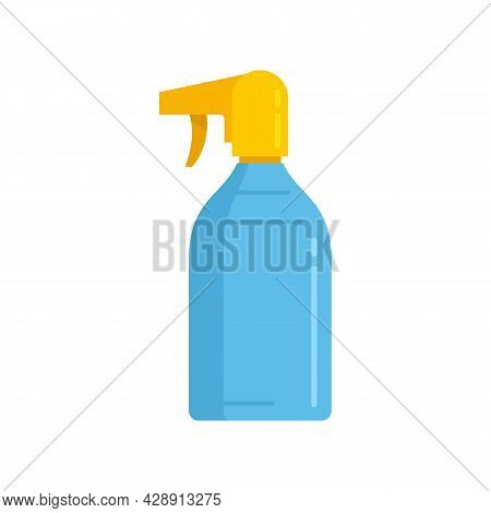Sunscreen Spray Icon. Flat Illustration Of Sunscreen Spray Vector Icon Isolated On White Background