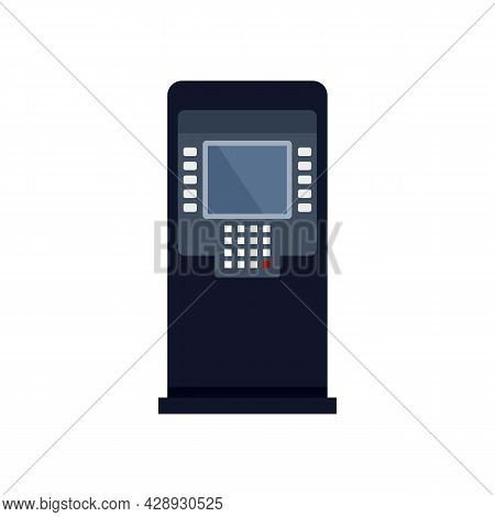 Finance Atm Icon. Flat Illustration Of Finance Atm Vector Icon Isolated On White Background