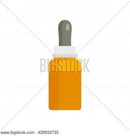 Cough Syrup Ointment Icon. Flat Illustration Of Cough Syrup Ointment Vector Icon Isolated On White B