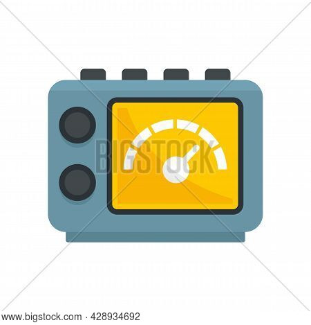 Tattoo Device Icon. Flat Illustration Of Tattoo Device Vector Icon Isolated On White Background