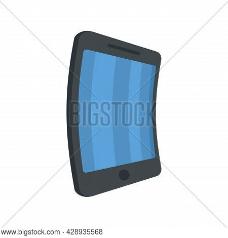 Flex Screen Icon. Flat Illustration Of Flex Screen Vector Icon Isolated On White Background