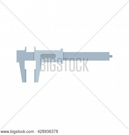 Caliper Icon. Flat Illustration Of Caliper Vector Icon Isolated On White Background