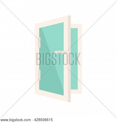 Home Installed Window Icon. Flat Illustration Of Home Installed Window Vector Icon Isolated On White