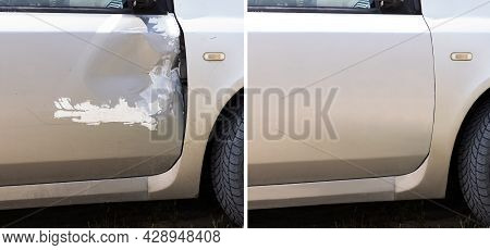 Car Dent Repair And Paint Before And After