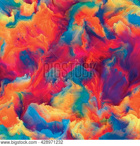 Waves Of Texture Paint
