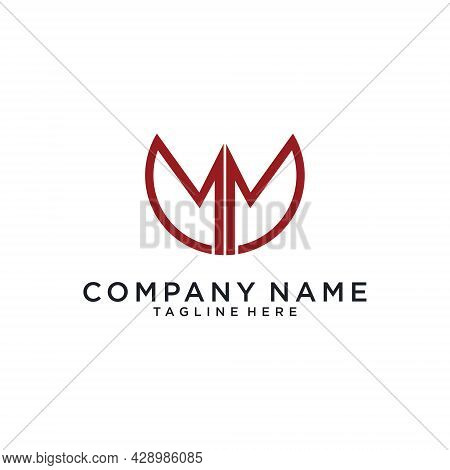 Initial Letter M Or Mm Logo Design. M Vector. M Icon.m Logo