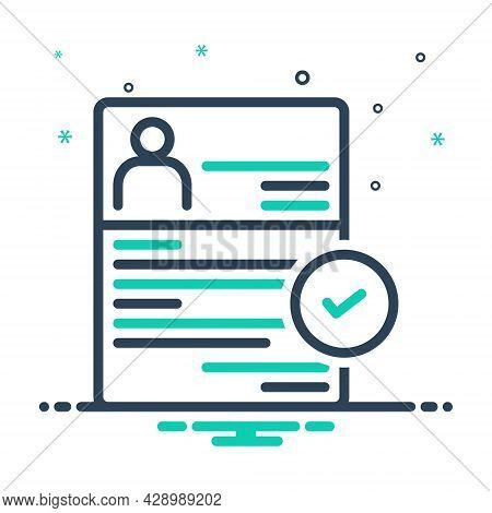 Mix Icon For Recruitment Enlistment Enrolment Conscription Mince Recruitment Registration