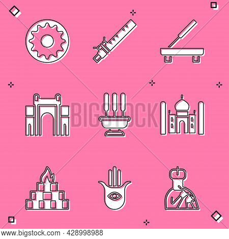 Set Chakra, Bamboo Flute Indian, Scented Spa Stick, India Gate Delhi, Incense Sticks, Taj Mahal, Yag
