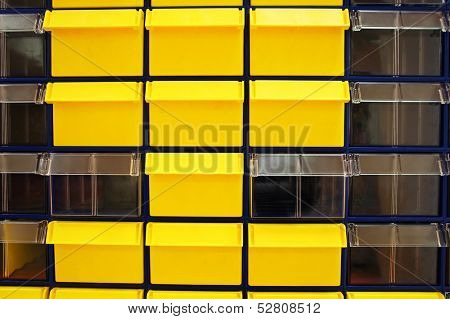 the image of  background with the image of a storage boxes