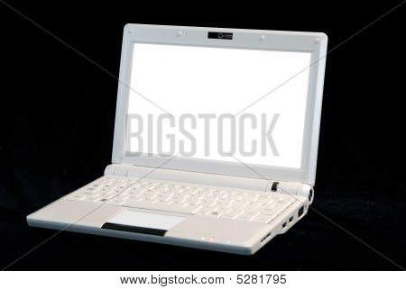 Isolated Laptop Computer