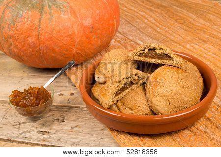 Homemade Pumpkin Biscuits
