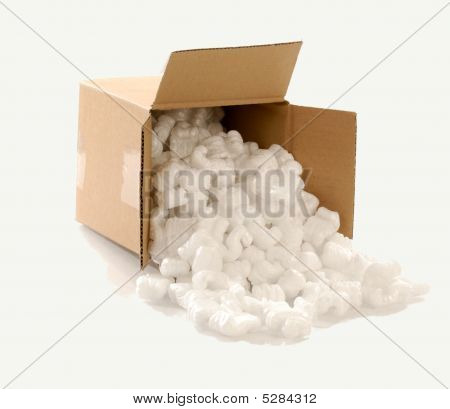 Cardboard Box With Packing Foam