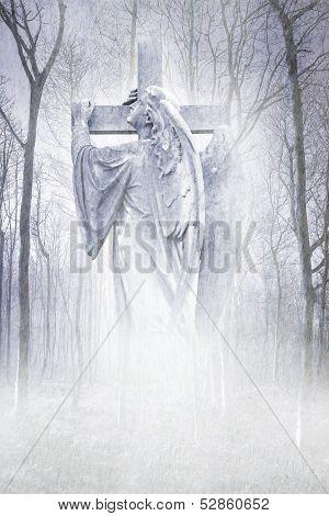Crucifix Forest Angel