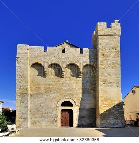 Church At Saintes Maries De La Mer