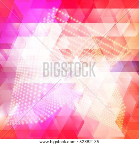 Colorful Triangular Abstract Background