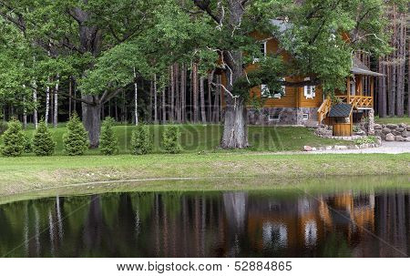 Summerhouse In The Forest