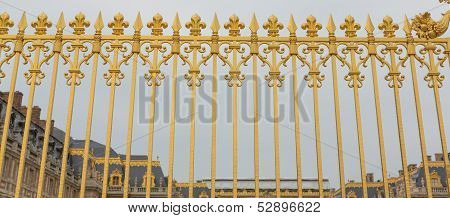 Versailles Gate Fence